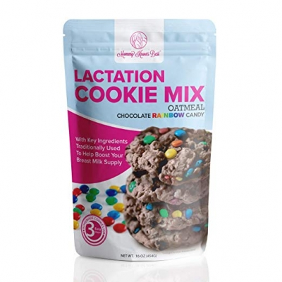 Oatmeal Chocolate Rainbow Candy Lactation Cookie Mix