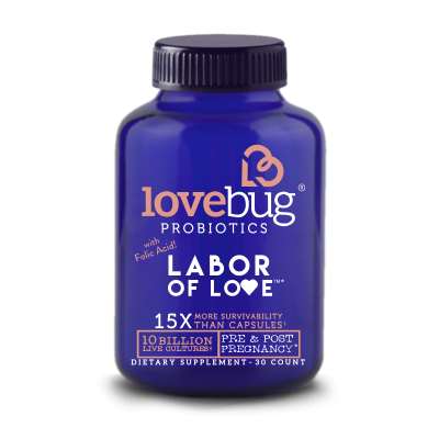 Labor Of Love Pre + Post Natal Probiotic