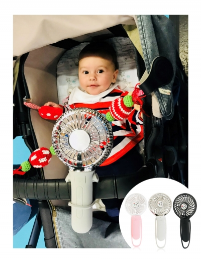 Buggygear's 3 Speed USB Rechargeable Turbo Fan