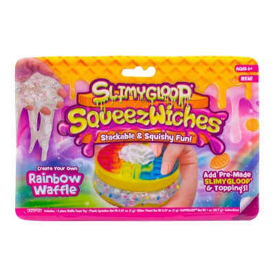 Rainbow Waffle SLIMYGLOOP SqueezWiches