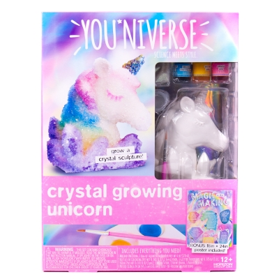 YOUniverse Crystal Growing Unicorn