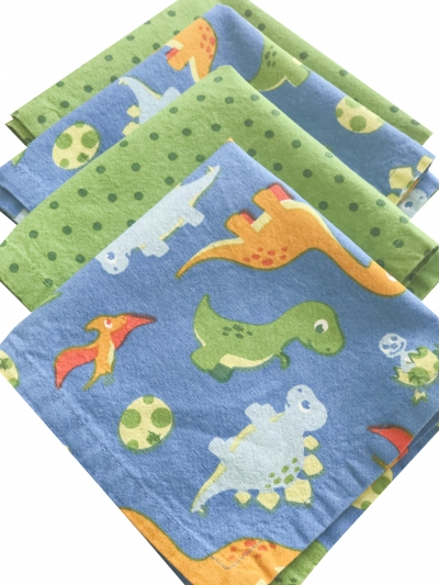 Funkins Reusable Cloth Napkins & Placemats for Kids