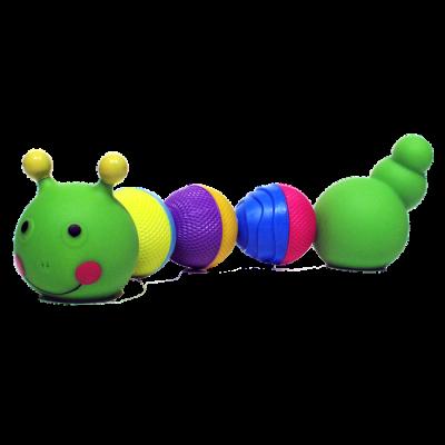 Lalaboom: 8 Piece Bath Bloom Beads Caterpillar