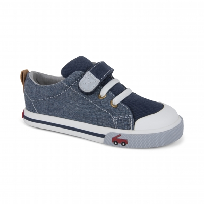 Stevie II Chambray Kids Sneaker