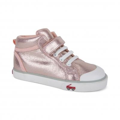 Peyton Rose Shimmer Kids Sneaker