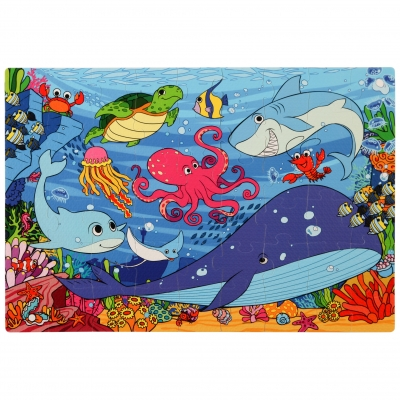Under the Sea Foam Floor Puzzle