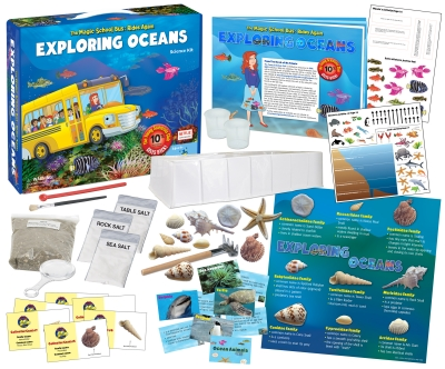 The Magic School Bus Rides Again:  Exploring Oceans