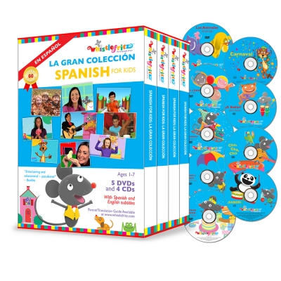 Spanish for Kids:  La Gran Coleccion