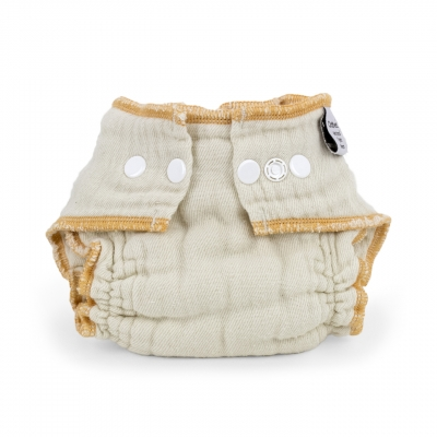 Cloth-eez Workhorse Fitted Diaper Made Of Organic Cotton - Snap Closure