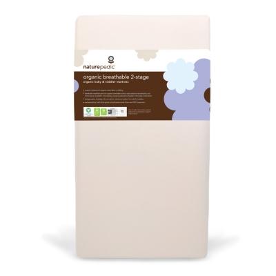 Organic Breathable 2-Stage Crib Mattress