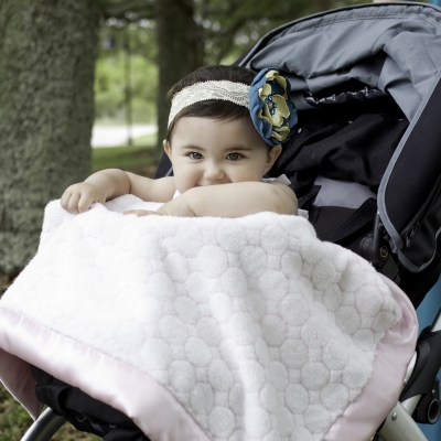SwaddleDesigns Stroller Blanket