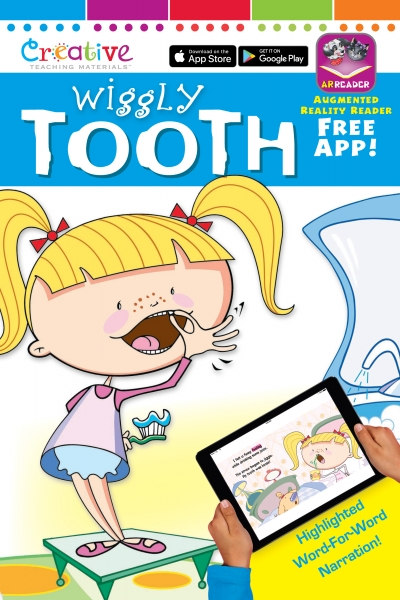 Augmented Reality Reader Wiggly Tooth
