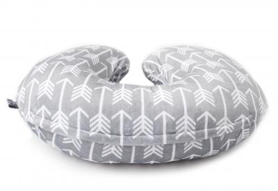 Minky Nursing Pillow Cover   Arrow Pattern Slipcover