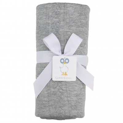 Gray Knit Blankets