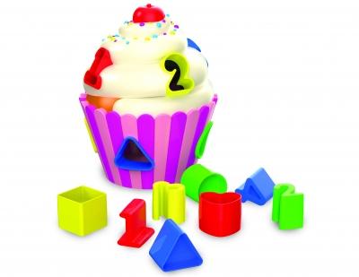 Cupcake Shape Sorter