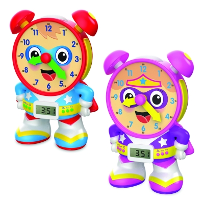 Super Telly Teaching Time Clocks