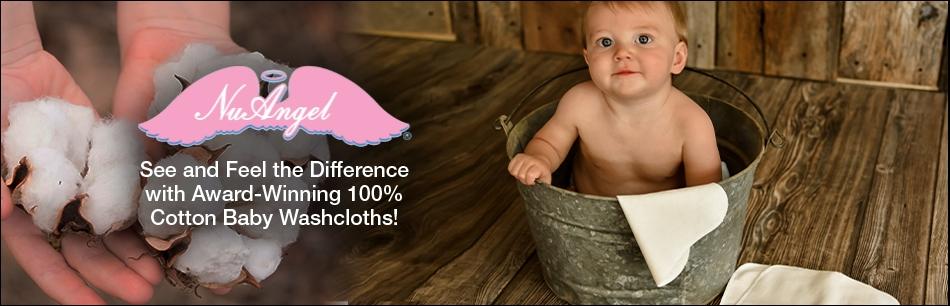 NuAngel 100% Cotton Baby Washcloths Receive Awards!