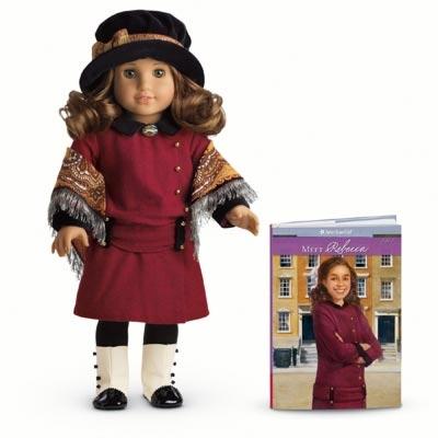 Rebecca Doll & Paperback Book