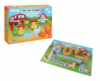 The Little Firefighters Game