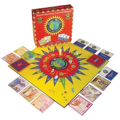 Zany World Board Game
