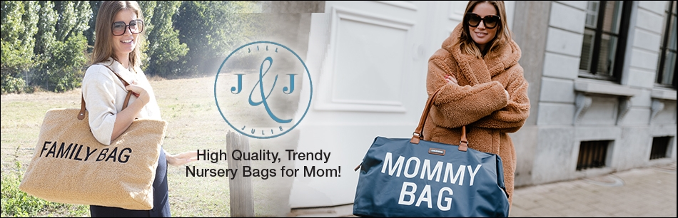 Proud to be a mommy? Show it to the world with our trendy nursery bags