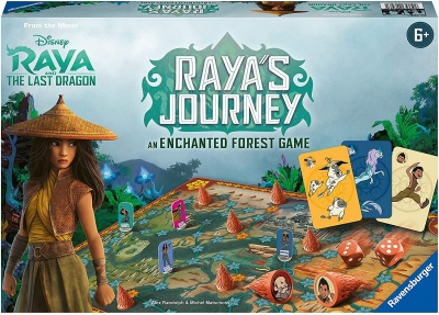 Raya's Journey: An Enchanted Forest Game