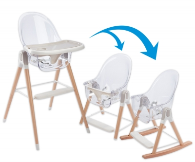 3-in-1 Vista High Chair, Toddler Chair, and Rocking Chair