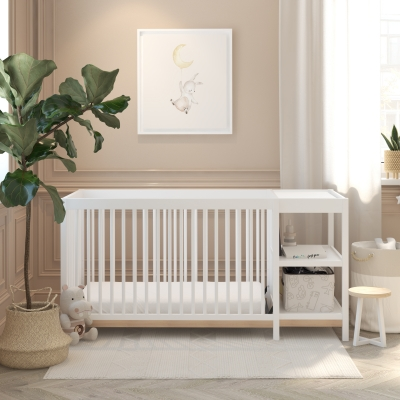 Baby Relax Calista Two Tone 3-in-1 Crib & Changer Combo