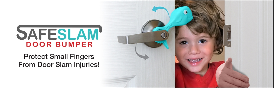 Protect Small Fingers from Door Slam Injuries