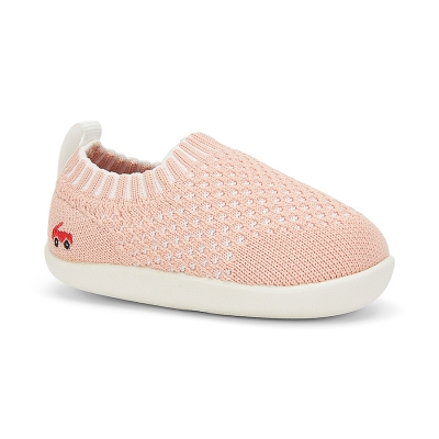 Baby Knit First Walker - Pink