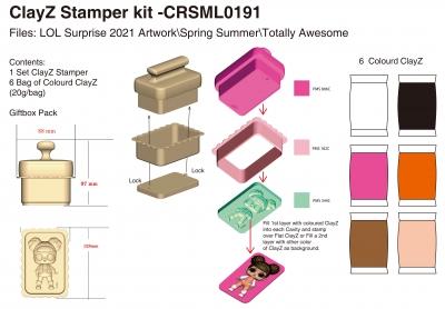 ClayZ Stamper kit