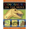 Dinosaurs on the Move: Movable Paper Figures to Cut, Color and Assemble