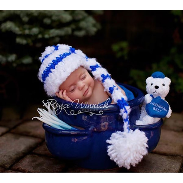 Hanukkah Baby Outfit