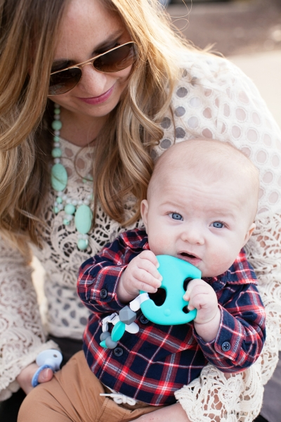 Trendy Teether Clip-On Teether