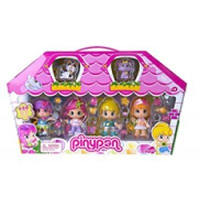Pinypon Case Figure & Pet Set