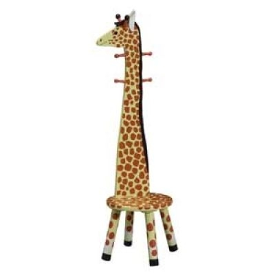 Stool with Rack Giraffe