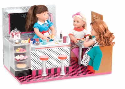 Our Generation Retro Bite To Eat Diner and Doll