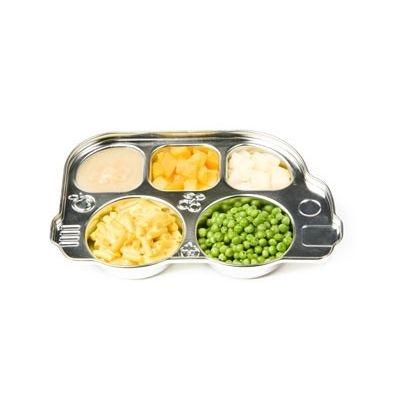 Stainless Divided Platter
