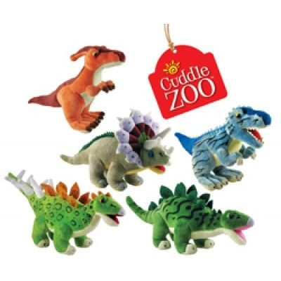 CuddleZoo™ Plush Dinosaurs - Small