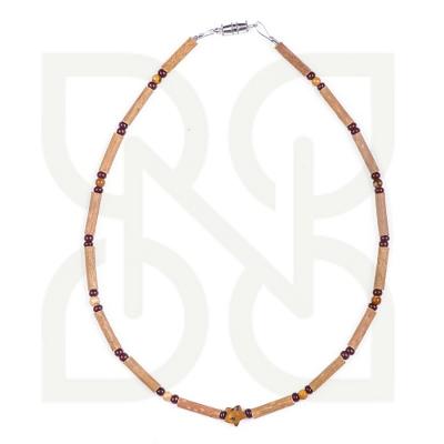 Pure Hazelwood Jasper teething necklace