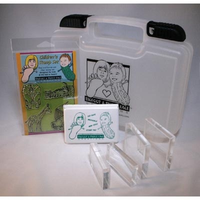 Clear Rubber Stamp Starter Kit-Circus Act