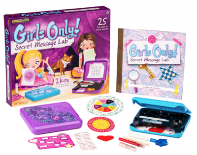 Girls Only! Secret Message Lab