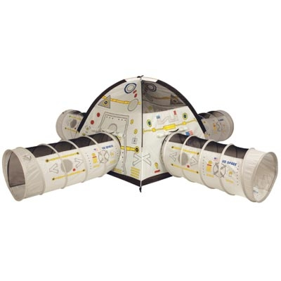 Space Station Tent with 4 Tunnel Combination