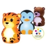 Onaroo Penguin, Bear & Tiger Portable Night-Lights