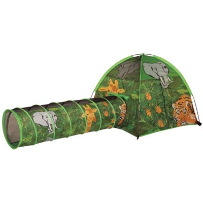 African Adventure Tent & Tunnel Combo