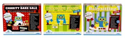 Bizainy Activity Kits - Lemonade Stand, Bake Sale, Babysitting