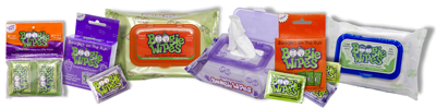 Fresh Scent Boogie Wipes