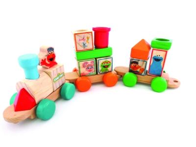 Sesame Street® Blocks Train