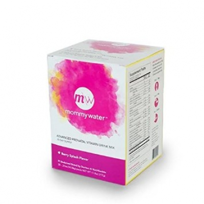 Prenatal Vitamin Drink Mix - 30 Day Supply- Berry Splash or Lemon Zest