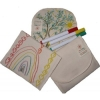 Color-Your-Own Snack Ditty; Reusable Snack Bag